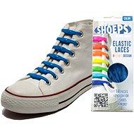 Shoeps - Silikonové tkaničky XL námořnická modrá - Sada tkaniček