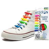 Shoeps - Silikonové tkaničky XL mix barev - Sada tkaniček