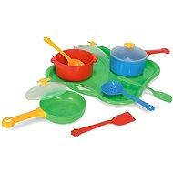 Wader - Tác s nádobím - Herní set