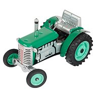 Kovap Traktor na klíček zelený - Kovový model