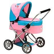 Bino Smaller pram with butterflies - Doll Stroller