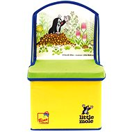 Bino Little Mole - Chair/Box for toys - Children's bedroom decoration