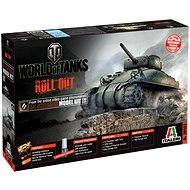 Italeri World of Tanks 36503 – M4 Sherman - Plastový model