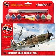 AirFix Starter set A55213 letadlo – Boulton Paul Defiant Mk.I - Plastový model