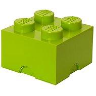 Úložný box LEGO Úložný box 4 250 x 250 x 180 mm - limetkově zelený