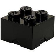Úložný box LEGO Úložný box 4 250 x 250 x 180 mm - černý