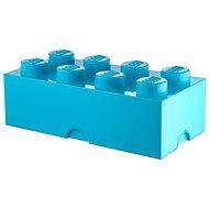 LEGO Úložný box 8 250 x 500 x 180 mm - azurová - Úložný box
