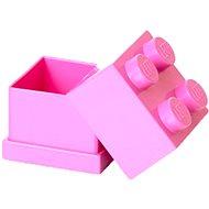 LEGO Mini box 46 x 46 x 43 mm - růžový - Úložný box