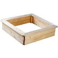 Dřevěné pískoviště 4 sezení - Pískoviště