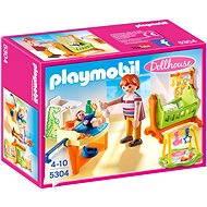 Playmobil 5304 Dětský pokoj s kolébkou - Stavebnice