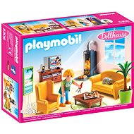 Playmobil 5308 Obývací pokoj s krbem - Stavebnice