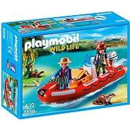 Playmobil 5559 Nafukovací člun s pytláky - Stavebnice