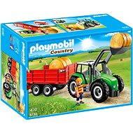 Playmobil 6130 Velký traktor s přívěsem - Stavebnice