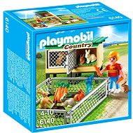 Playmobil 6140 Králíkárna s venkovním výběhem - Stavebnice