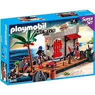 Playmobil 6146 Super Set Pirátská pevnost - Stavebnice