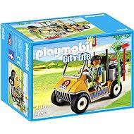 Playmobil 6636 Auto ošetřovatele zvířat - Stavebnice