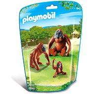 Playmobil 6648 Orangutani s mládětem - Stavebnice