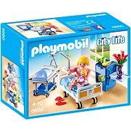 Playmobil 6660 Nemocniční pokoj s dětskou postýlkou - Stavebnice