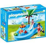 Playmobil 6673 Dětský bazén se skluzavkou - Stavebnice