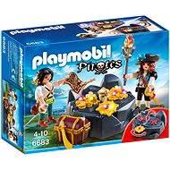 Playmobil 6683 Pirátská skrýš - Stavebnice
