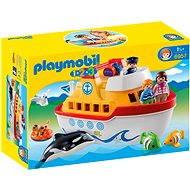 Playmobil 1.2.3 6957 Moje první přenosná loď - Stavebnice