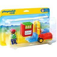 Playmobil 1.2.3 6959 Vysokozdvižný vozík - Stavebnice
