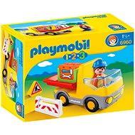 Playmobil 1.2.3 6960 Sklápěcí auto - Stavebnice