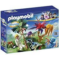 Playmobil 6687 Ztracený ostrov s Alienem a raptorem - Stavebnice