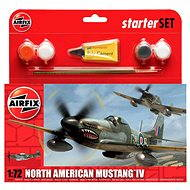 AirFix Starter Set A55107 letadlo – North American Mustang IV - Plastový model