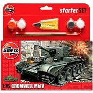 AirFix Starter Set A55109 tank – Cromwell MkIV - Plastový model
