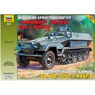 Model Kit military 3572 - Hanomag Sd.Kfz.251/1 Ausf.B - Plastikový model