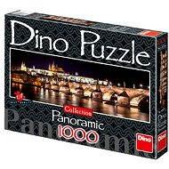 Dino Hradčany v noci - Puzzle