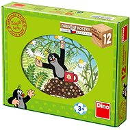Kubus Wooden blocks - Mole and friends - Picture Blocks