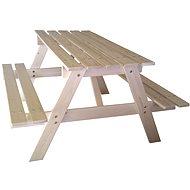 Cubs - Dětský dřevěný piknik stolek velký - Příslušenství na dětské hřiště