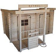 Dětský dřevěný domek CUBS - Petrol - Dětské hřiště