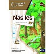 Kouzelné čtení - Puzzle Náš les - Kniha pro děti