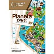 Kouzelné čtení - Puzzle Planeta zvířat - Kniha pro děti