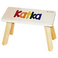 Barevná stolička CUBS Katka - Nábytek