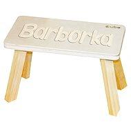 Přírodní stolička CUBS Barborka - Nábytek