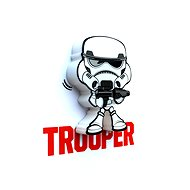 3D Mini světlo Star Wars Storm Trooper - Osvětlení do dětského pokoje