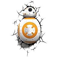 3D Světlo Star Wars BB-8 - Osvětlení do dětského pokoje