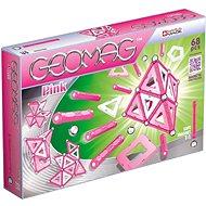 Geomag - Kids Pink 68 dílků - Magnetická stavebnice