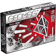 Geomag - Panels black/white 68 dílků - Magnetická stavebnice