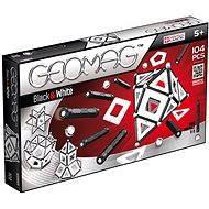 Geomag - Panels black/white 104 dílků - Magnetická stavebnice