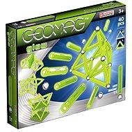 Geomag - Kids Glow 40 dílků - Magnetická stavebnice