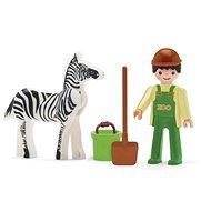 Igráček - Ošetřovatel a zebra - Herní set