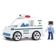 IGRÁČEK Handy - Policejní auto s policistou - Herní set