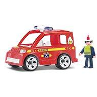 Igráček Multigo - Hasičské auto s hasičem - Herní set