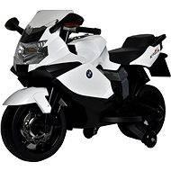 Elektrická motorka BMW K1300 bílá - Dětská elektrická motorka