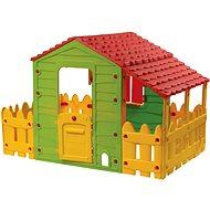 Domeček Farm s plotem a verandou - Dětský domeček
